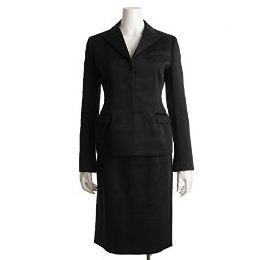Prada | Prada Black Suit Skirt Size 42 Jacket Size 44