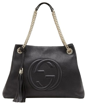 Gucci | GUCCI SOHO PEBBLE LEATHER...