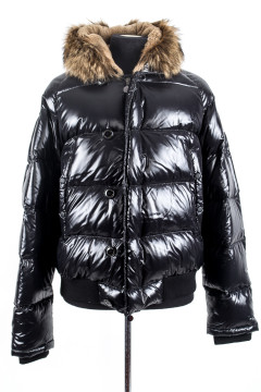 Moncler | Black Puffer Coat Size: L-xl