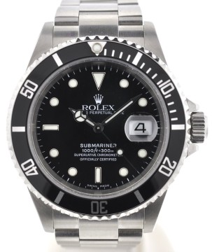Rolex | Rolex 16610 Submariner Stainless Steel Watch Papers F Serial