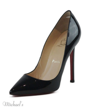 Christian Louboutin | Christian Louboutin Black Patent Leather Shoes Sz 35.5