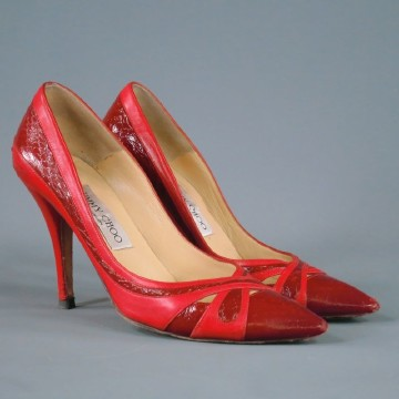 Jimmy Choo | JIMMY CHOO Size 6 Red Pumps