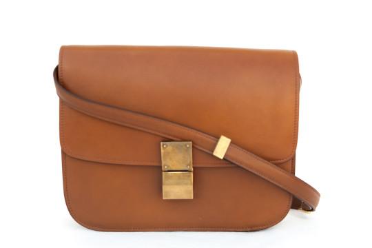 Céline | Celine NWT Leather Box Bag w/Strap