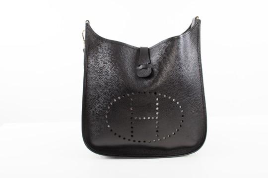 Hermès | Hermes Black Leather