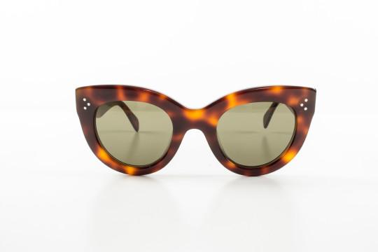 Céline | Celine Plastic Tortoise Shell Cat Eye Sunglasses