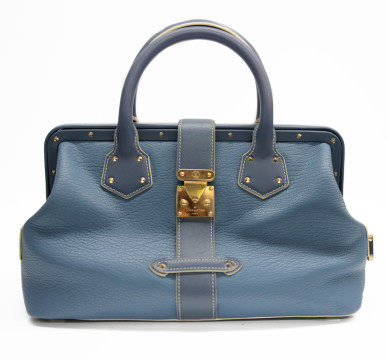 Louis Vuitton | Louis Vuitton Blue Leather