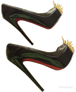 Christian Louboutin   'ASTEROID' SPIKE-TOED PUM...