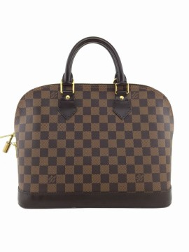 Louis Vuitton | Louis Vuitton Brown Damier Ebene Alma PM Shoulder Bag