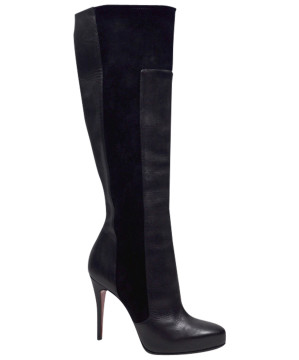 Christian Louboutin | Christian Louboutin Leather & Suede Boots Sz37