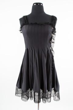Chanel | CHANEL BLACK SLEEVELESS P...