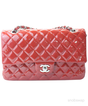 Chanel | Chanel Red Quilted Double Flap Handbag