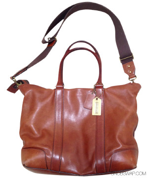 Coach | Coach Tan Leather Bag - Large