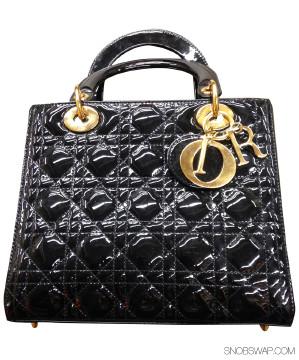 Christian Dior   Authentic Lady Dior Bag