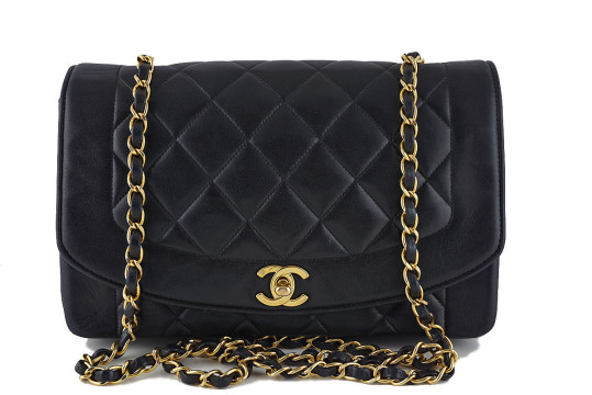 Chanel | Chanel Vintage Black Quilted Classic Shoulder Flap