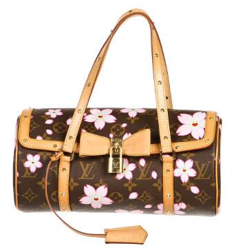 Louis Vuitton   Louis Vuitton Brown Monogram Cherry Blossom Papillon Handbag