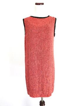 Robert Rodriguez   Robert Rodriguez Beaded Coral Dress