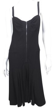 Donna Karan | NWOT DONNA KARAN COLLECTION Flowy Zipper Dress Size: M