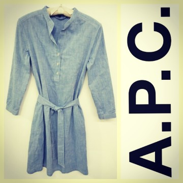 A.P.C. | A.P.C. $275 LIGHT BLUE CH...