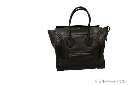 Céline   Celine Shoulder Luggage Shopper X Large