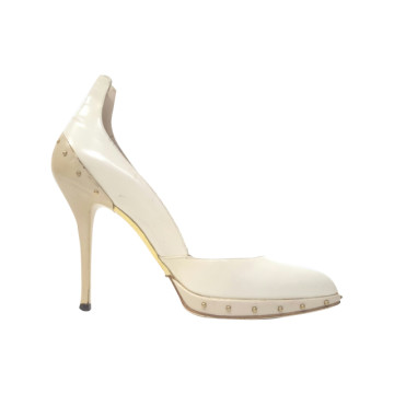 Gucci | GUCCI IVORY LEATHER SEXY...