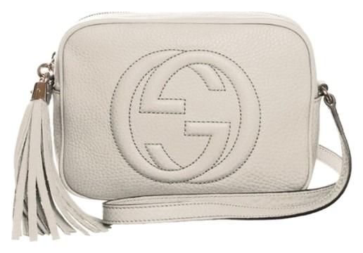 Gucci | Gucci Soho Disco Crossbody Mystic White, NEW