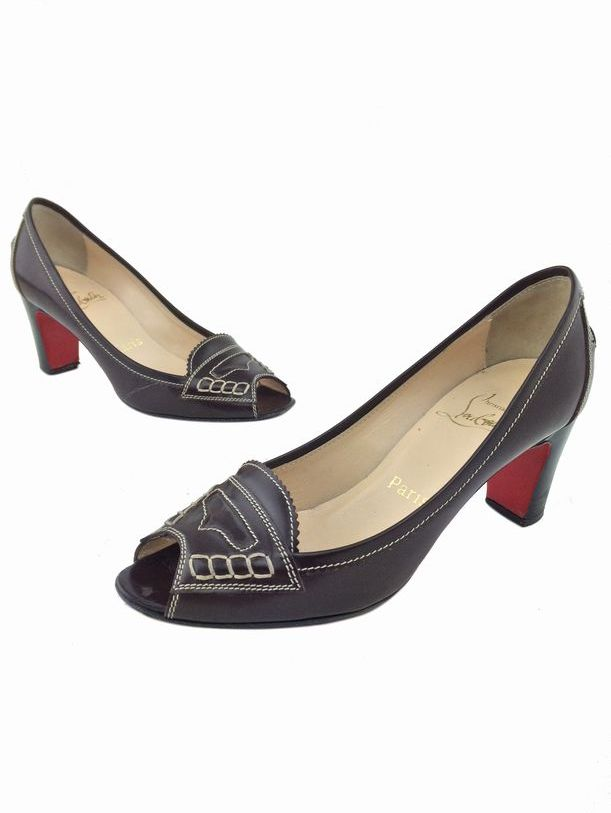 knock off christian louboutins - Artesur ? christian louboutin loafers Brown leather