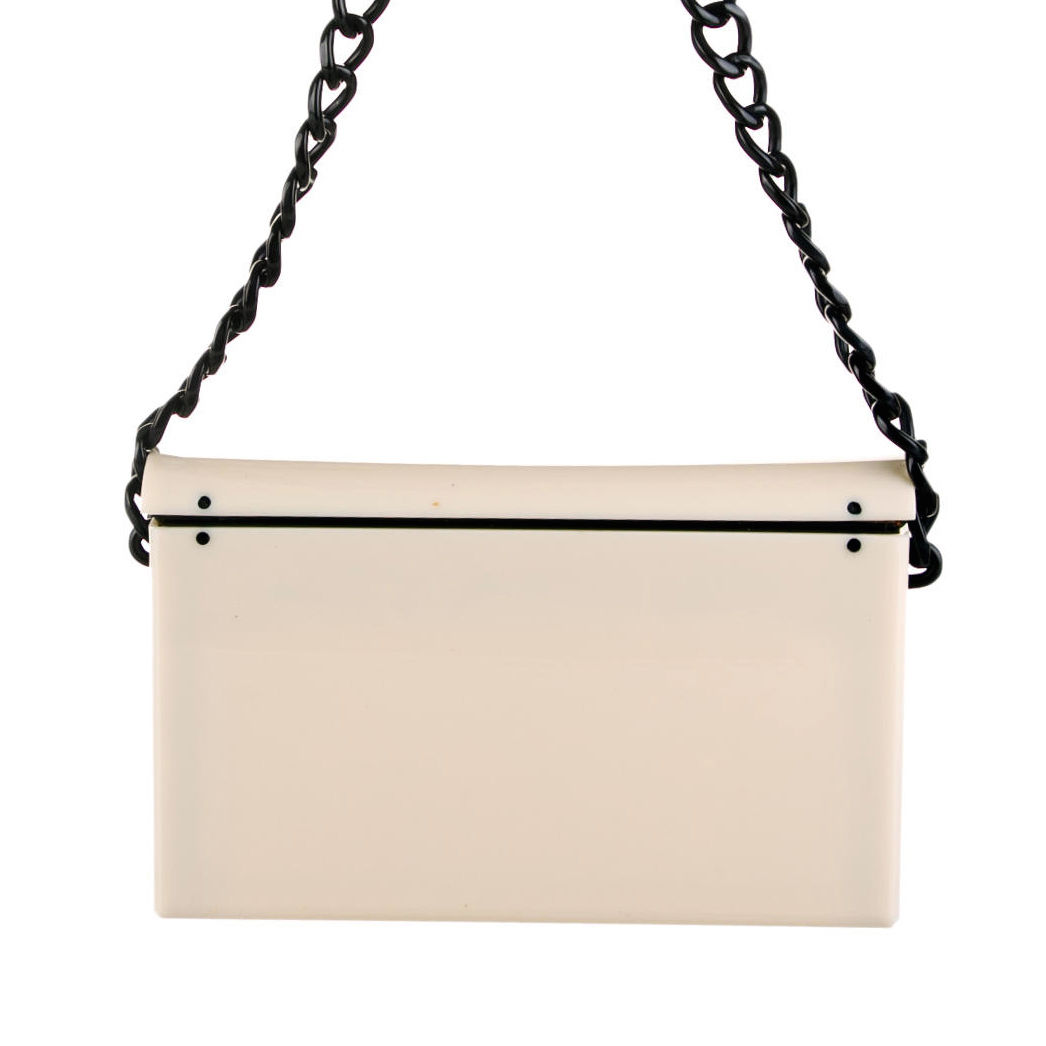 Chanel Shoulder Bags CHANEL ACRYLIC FLAP BAG
